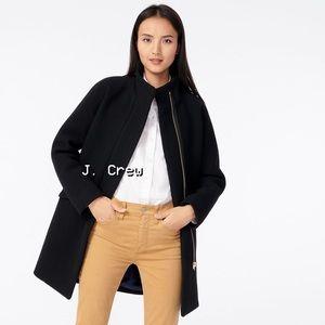 🌿 J. Crew Italian Stadium-cloth Wool Coat (8)